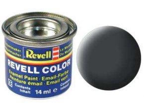 Revell - Barva emailová 14ml - č. 77 matná prachově šedá (dust grey mat), 32177
