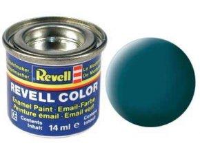 Revell - Barva emailová 14ml - č. 48 matná mořská zelená (sea green mat), 32148