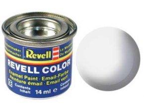 Revell - Barva emailová 14ml - č. 05 matná bílá (white mat), 32105