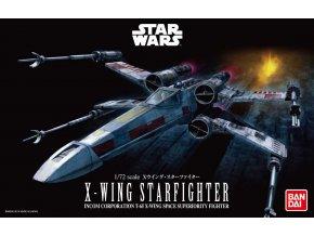 Revell - Star Wars - X-Wing Starfighter, Plastic ModelKit BANDAI SW 01200, 1/72
