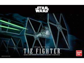 Revell - Star Wars - TIE Fighter, Plastic ModelKit BANDAI SW 01201, 1/72