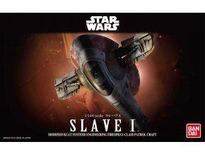 Revell - Star Wars - Slave I, Plastic ModelKit BANDAI SW 01204, 1/144