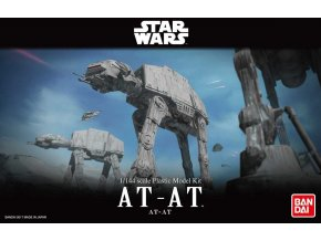 Revell - Star Wars - AT-AT, Plastic ModelKit BANDAI SW 01205, 1/144