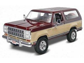 Revell - Dodge® Ramcharger 1980, Plastic ModelKit MONOGRAM 4372, 1/24