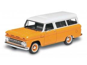Revell -  Chevy® Suburban™ '66, Plastic ModelKit MONOGRAM 4409, 1/25