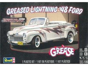 Revell - Ford Convertible Greased Lightning '48, Plastic ModelKit MONOGRAM 4443, 1/25