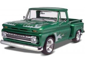 Revell - Chevy® Stepside Pickup '65 2 'n 1, Plastic ModelKit MONOGRAM 7210, 1/25