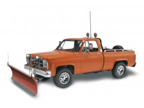 Revell - GMC® Pickup se sněžným pluhem, Plastic ModelKit MONOGRAM 7222, 1/24