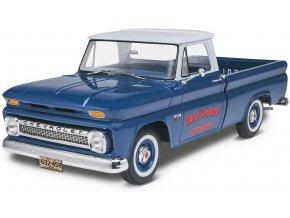 Revell - Chevy® Fleetside Pickup '66, Plastic ModelKit MONOGRAM 7225, 1/25