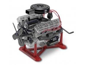 Revell - Visible V-8 Engine, Plastic ModelKit MONOGRAM 8883, 1/4