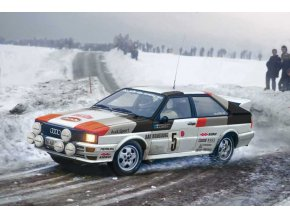Italeri - Audi Quattro Rally, Model Kit 3642, 1/24