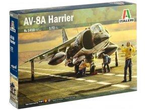Italeri - McDonnell Douglas AV-8A Harrier, Model Kit 1410, 1/72