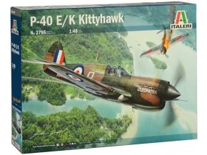 Italeri - Curtiss P-40E/K Kittyhawk, Model Kit 2795, 1/48