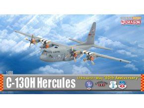 Dragon - Lockheed C-130H Hercules, USAF 179th AW, Ohio, 60 let výročí, 1/400