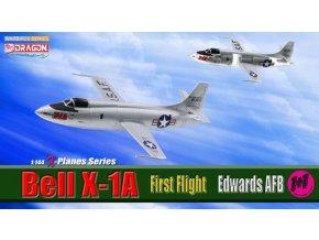 Dragon - Bell X-1A, Muroc Army Air Field, první let, set 2 modelů, 1/144