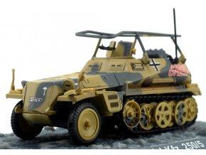 Altaya - Sd.Kfz.250/5, Deutsches Afrika Korps, Tobruk, Lybie, 1942, 1/72