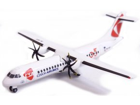 "Herpa - ATR 72-500, dopravce Czech Airlines ČSA, ""2010s"" colors, ""95th Anniversary"" Logo, 1/500"