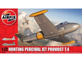 Airfix - Hunting Percival Jet Provost T.4, Classic Kit A02107, 1/72