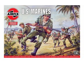 Airfix - figurky US Marines, Classic Kit VINTAGE A00716V, 1/76