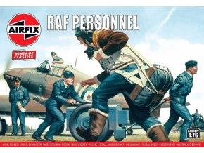 Airfix - figurky personál RAF, Classic Kit VINTAGE A00747V, 1/76