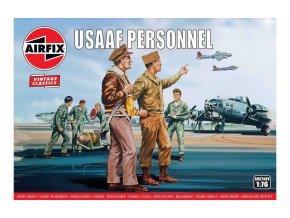 Airfix - figurky personál USAAF, Classic Kit VINTAGE A00748V, 1/76