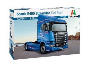Italeri - Scania R400 Streamline, Model Kit 3947, 1/24