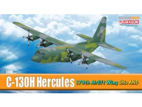 Dragon - Lockheed C-130H Hercules, USAF, 179th AW, Mansfield Lahm ANGB, Ohio, 1/400