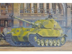 Dragon - tank VK.45.02 (P)H, Model Kit 7493, 1/72