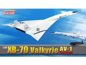 Dragon - XB-70 Valkyrie AV-1, prototyp č.1, NASA/USAF, 1/200