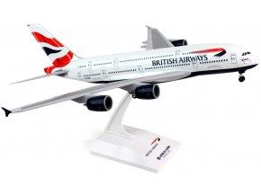"Skymarks - Airbus A380-841, společnost British Airways, ""United Kingdom - Union Jack"" Colors, ""To Fly To Serve"" Logo, Velká Británie, 1/200"