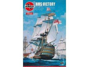 Airfix - HMS Victory, Classic Kit VINTAGE A09252V, 1/180