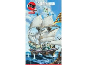 Airfix - Golden Hind, Classic Kit VINTAGE A09258V, 1/172