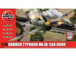 Airfix - Hawker Typhoon Mk Ib (plus extra Luftwaffe dekály), Classic Kit A19003A, 1/24