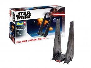 Revell - Star Wars - Kylo Ren's Command Shuttle, Plastic ModelKit 06746, 1/93