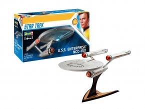Revell - Star Trek - U.S.S. Enterprise NCC-1701 (TOS), Plastic ModelKit 04991, 1/600