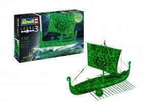 Revell - Vikingská loď duchů, Plastic ModelKit 05428, 1/50