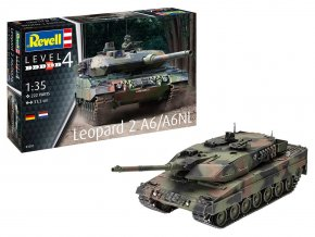 Revell - Leopard 2 A6/A6NL, Plastic ModelKit 03281, 1/35