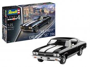 Revell - Chevrolet Chevy Chevelle 1968, ModelSet 67662, 1/25