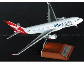 JC Wings - Airbus A330-202, společnost Qantas Airways, Austrálie, 1/200