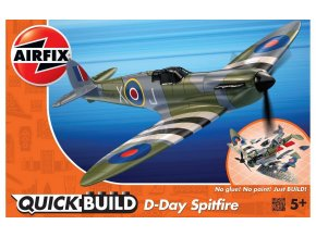 Airfix - Supermarine Spitfire, D-Day, Quick Build J6045