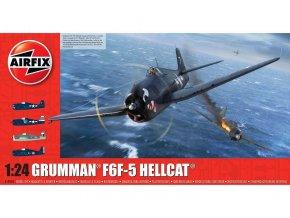 Airfix - Grumman F6F5 Hellcat, Classic Kit A19004, 1/24