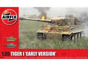 Airfix - Pz.Kpfw.VI Tiger I, Early Version, Classic Kit A1363, 1/35