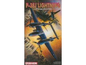 Dragon - Lockheed P-38J Lightning, Model Kit 5018, 1/72