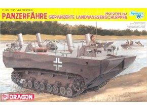 Dragon - Panzerfähre Gepanzerte Landwasserschlepper Prototype Nr.1, Model Kit 6625, 1/35