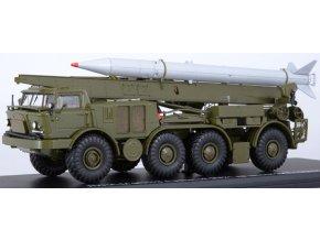 Start Scale Models - ZIL-135 8x8 9K52 Luna-M / FROG-7, mobilní raketový systém, sovětský svaz, 1/43