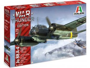 Italeri - Junkers Ju 88 A-4, Luftwaffe, Model Kit War Thunder 35104, 1/72