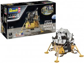 "Revell - Apollo 11 lunární modul ""Eagle"", 50 Years Moon Landing, Gift-Set 03701, 1/48"