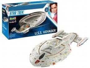 Revell - Star Trek - U.S.S. Voyager, Plastic ModelKit 04992, 1/670