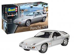 Revell - Porsche 928, Plastic ModelKit 07656, 1/16