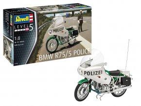 Revell - BMW R75/5 Polizei, Plastic ModelKit 07940, 1/8
